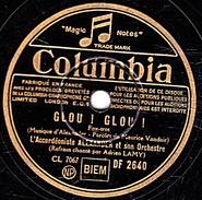 78 T.- 25 Cm - état B - ALEXANDER - GLOU ! GLOU !  - LA RUE DE NOTRE AMOUR - 78 G - Dischi Per Fonografi