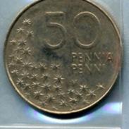 1992    50 PENNI - Finlande