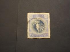 BARBADOS - 1920/5 VITTORIA  2 1/2 P. - TIMBRATO/USED - Barbados (...-1966)