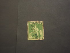 BARBADOS - 187.. BRITANIA  1/2 P. - TIMBRATO/USED - Barbados (...-1966)