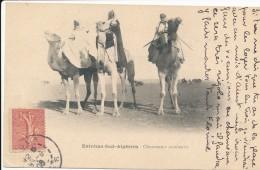CPA ALGERIE Extrême Sud Algérien Chameaux Coureurs - Algeria