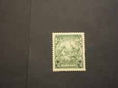 BARBADOS - 1938/41 CAVALLI  1/2, Dent. 13x13 1/2 - NUOVO(+) - Barbados (...-1966)