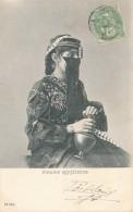 CPA EGYPTE Carte Précurseur Femme égyptienne En Costume Coiffe Et Bijoux - Egypt
