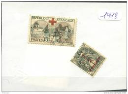 France  Années Completes (o) 1918 (2 Timbres) - ....-1939