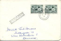 Ireland FDC 9-9-1974 Soccer Football I.R.F.U. 1874 - 1974 Sent To Denmark - FDC