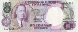 PHILIPPINES 100 PISO ND (1969) P-147a UNC  [PH147a] - Philippines