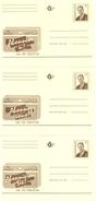 Belg.1996 - 3 X Belgacom - Abonneer U - Abonnez-vous - Abonnieren Sie (3 Talen - 3 Langues) - Postcards [1951-..]