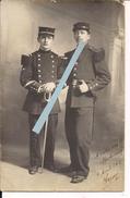 8eme Génie Officier Transmission Rueil Angoulême 57eme Ri Libourne 1912 1carte Photo Poilus Tranchées 1914 14-18 Ww1 1wk - Guerre, Militaire