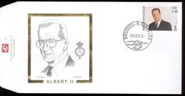 2001 - Obp 2984 -  King Roi Koning Albert II Type MVTM  - Cote Euro  8,50 - 2001-10