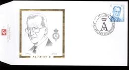 2000  - Obp  2963  -  King Roi Koning Albert II Type MVTM  - Cote Euro 4,50 - FDC