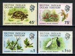 1971 - TERRITORIO BRITANNICO INDIAN OCEAN - Catg.. Mi. 39/42 - NH - (I-SRA3207.6) - Territorio Britannico Dell'Oceano Indiano