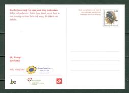 Belg. 2005 - Campagne Stop Met Roken (2 Scans) - Entiers Postaux