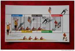Blok Olympisch Spelen NVPH 1517 (Mi Block 36); 1992 POSTFRIS / MNH ** NEDERLAND / NIEDERLANDE - Period 1980-... (Beatrix)