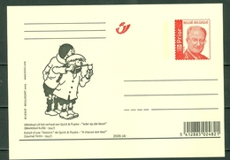 """Belg. 2005 - Uittreksel Uit """"Ieder Op Zijn Beurt - Extrait De """"A Chacun Son Tour"""" Quick & Flupke - Hergé 1947 - Cartes Postales [1951-..]"""