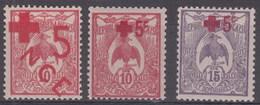 Nueva Caledonia 110/112 * Charnela. 1915 - Ongebruikt
