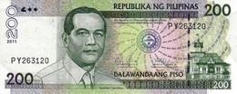 PHILIPPINES 200 PISO 2011 P-195c NEUF [PH195c] - Philippines