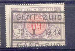 K315  België  Spoorweg  Chemin De Fer  GENT - ZUID - 1895-1913