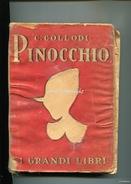 LIBRO-LIVRE-PINOCCHIO_I GRANDI LIBRI_CASA EDITRICE SALANI 1945_FIRENZE_254 PAGINE_DISEGNI DI F.FAORZI_COMPLETO_ - Livres, BD, Revues