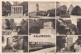 Salzwedel Mehrbildkarte Feldpost WW2 1941 - Salzwedel