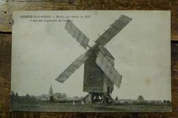 41, JOSNES, MOULIN QUI SERVIT EN 1870 A SIGNALER L'APPROCHE DE L'ENNEMI - France