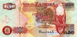 ZAMBIA 50 KWACHA 2009 P-37h UNC [ZM138i] - Zambia