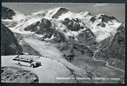 Sustenstrasse M. Steingletscher, 19.9.1961, Gwächtenhorn, Tierberge, Bus, Autobus, Uri-Bern, TOP - UR Uri