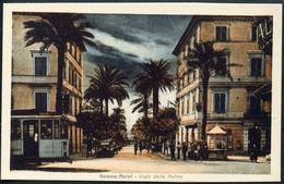 Genova Nervi, Viale Delle Palme, TRAM, Strassenbahn, - Genova