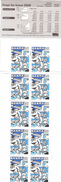 Europa CEPT 2008: DANEMARK/DANMARK  Yvert 1504**  Carnet Complet De 10 Timbres/booklet - 2008
