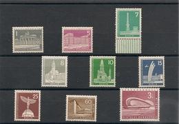 BERLIN Année 1956/63 N° Y/T :125/130-132-133A-135A** - [5] Berlin