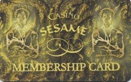 Casino Sesame Membership Card Bulgarie - Casino Cards