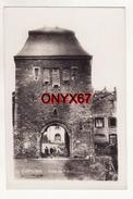 Carte Postale Photo BASTOGNE (Belgique)  Porte De Trèves Groupe D'enfants - Bastenaken
