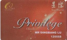 Galaxy Star World Casino Macao : Privilege Classic - Casino Cards