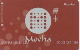 Mocha Regular Card : Melco Crown Entertainment - Mocha Clubs Macau : Casino - Casino Cards
