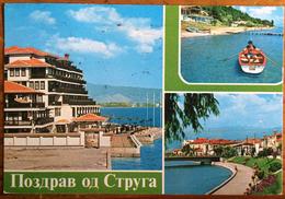 Yugoslavia, Jugoslavija, Macedonia, Струга, Struga,  Posted In 1986 - Joegoslavië