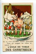 Huile Cochon Publicité - Publicité