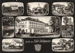 5870.   GruB Aus Bad Salzhausen -. Multi View - 1973 - Wetterau - Kreis