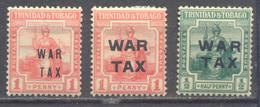 Trinidad Et Tobago War Tax Neuf/charnière * - Trinité & Tobago (1962-...)