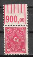 Reich N° 200 Neuf ** Michel N° 206 W OR - Deutschland