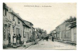 FRANCE (51) > HAUTEVILLE (Marne) > La Grande-Rue Et La Boulangerie Sur La Gauche - Other Municipalities