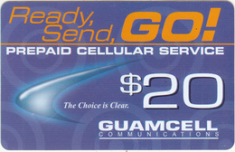 GUAM - Guamcell Prepaid Card $20, Used - Guam