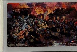 CPA Signée Sala, Bataille De La Marne, Charge Des Turcos à Germigny L'évêque Guerre 14-18  Militaria JAN 2017 Div 179 - Künstlerkarten
