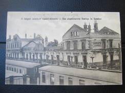 AK SAMBOR Bahnhof Ca.1916 ///  D*22188 - Ukraine