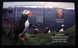 ICELAND #1173. 190k, 2009 Nordia Philatelic Exhibition. Miniature Souvenir Sheet. MNH (**) - 1944-... Republic