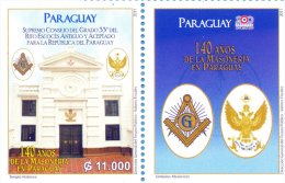 PARAGUAY GRADO 33 MASONERIA MASONES 140 AÑOS MASONERIA EN PARAGUAY 2011 - Paraguay