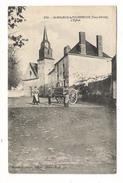 DEUX-SÈVRES  /  SAINT-MAURICE-la-FOUGEREUSE  /  L' EGLISE  ( Attelage, Marchand Ambulant ) /  Edit. BONNET-AUGEREAU - France
