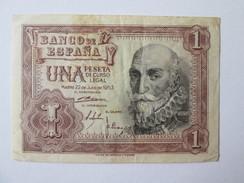 Spain 1 Peseta 1953 - [ 3] 1936-1975 : Régence De Franco
