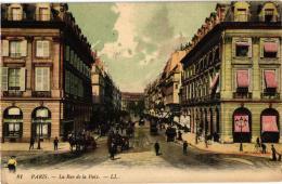 PARIS RUE DE LA PAIX ,COLORISEE REF 50721 - District 01