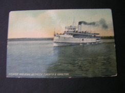 Canada , Steamer Card 1909 - Hamilton