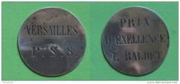 Médaile D´un Prix D´excellence De Versailles P.S.S à L.Balbet - France