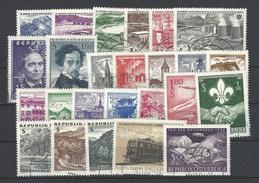 Jahrgang 1962 Kpl. Gestempelt - Österreich